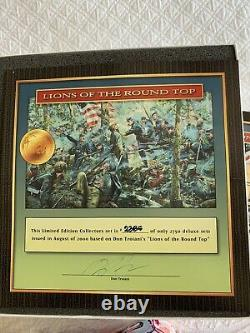 Conte Don Troiani 59002 Lions of the Round Top Add on Set Civil War NEW Retired