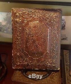 Crystal Cear Union Civil War Soldier New Hampshire NHV Ruby Ambrotype 1/4 plate