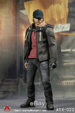 Custom ACPLAY 1/6 ATX022 Civil War Captain America Winter Soldier Bucky Figure