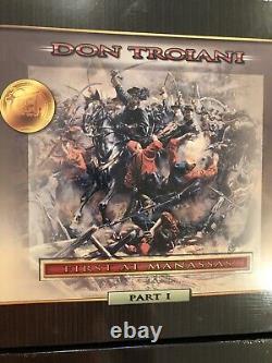 DON TROIANI CIVIL WAR FIRST at MANASSAS PART I And II BATTLE of BULL RUN Set NIB