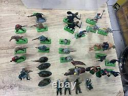Deetail 1971 1976 Lot of 33 Mixed Union Civil War Soldiers Made In ENGLAND Toys