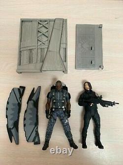 Diamond Marvel Select Lot Falcon Winter Soldier Civil War Captain America