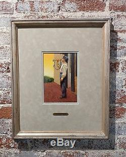 Don Prechtel Civil War Soldier Playing the Bugle Oil Painting