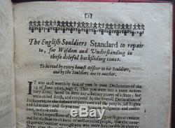 ENGLISH SOLDIERS STANDARD 1649 LEVELLERS Walwyn LIBERTY Civil War IRISH FREEDOM