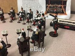 Ed Colarik's Patrick Gilmore's Civil War Band metal toy soldiers 54mm scale Ltd