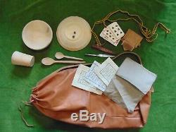 English Civil War TYW soldiers snapsack and gear re-enactment Sealed Knot ECWS