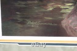 Framed And Matted Robert Summers Off Duty Buffalo Soldier CIVIL War Print