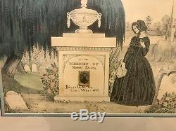 Framed Civil War Soldier Memorial Robert Raisen Killed In Action 1863 With Photo