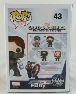 Funko Pop! Marvel Civil War Winter Soldier Unmasked #43