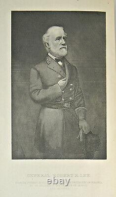 GENERAL ROBERT E LEE Antique 1863 GETTYSBURG MAP Relic CSA Soldier CONFEDERATE