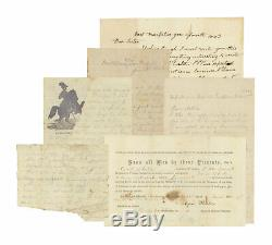Group of Civil War Letters by 2nd VT Soldier Badly Wounded at Fredericksburg