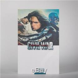 HC Toy Captain AmericaCivil War Winter Soldier 1/6th Scale Action Figure 30cm