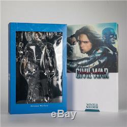 HC Toy Civil War Winter Soldier Bucky Barnes 1/6th Scale Action Figure New 30cm