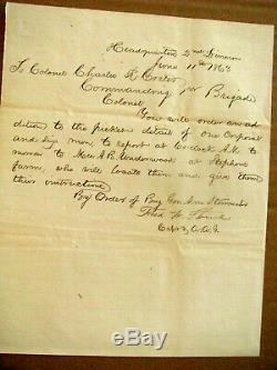 Harriet Beecher Stowe Soldier Son CIVIL War Letter 1863