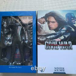 Hot Toys 1/6 BUCKY Captain America Civil War Winter Soldier USED Japan F/S