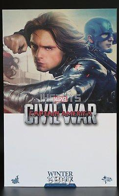 Hot Toys 1/6 Captain America Civil War Winter Soldier MMS351