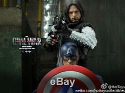 Hot Toys 1/6 MMS351Captain America Civil War Winter Soldier Type Figure Toys