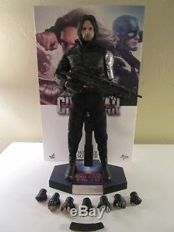 Hot Toys 1/6 WINTER SOLDIER FIGURE MMS351 Captain America 3 Civil War Bucky