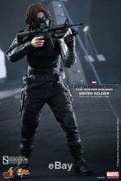 Hot Toys Captain America 2 Winter Soldier 1/6 Scale Figure Mms241 New CIVIL War