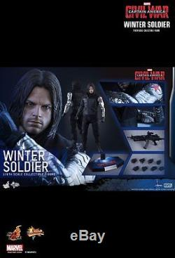 Hot Toys Captain America Civil War Winter Soldier MMS351