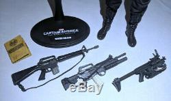 Hot Toys Civil War Bucky Winter Soldier w Infinity War Body 1/6 Scale Custom Lot