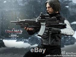 Hot Toys MMS351 Captain America Civil War 1/6 Winter Soldier Action Figure