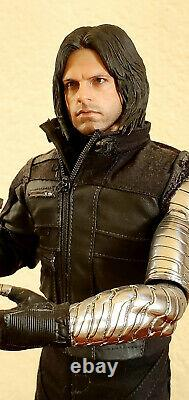 Hot Toys MMS351 Captain America Civil War Bucky Winter Soldier 1/6 sixth scale