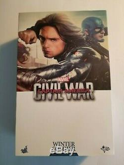 Hot Toys MMS351 Captain America Civil War Winter Soldier