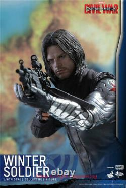 Hot Toys MMS351 Captain America- Civil War Winter Soldier 2.0 1/6 Figure INSTOCK