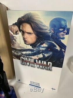 Hot Toys MMS351 Captain America Civil War Winter Soldier Bucky Barnes 1/6 MIB CW