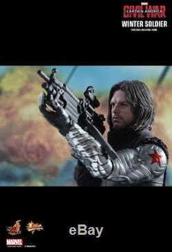 Hot Toys MMS351 Sideshow Winter Soldier Bucky Marvel Captain America Civil War