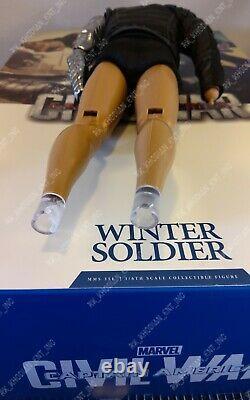 Hot Toys MMS351 Winter Soldier Civil War Bucky 1/6 body shirt & jacket Must Read