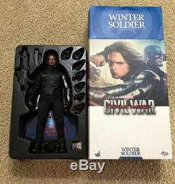 Hot Toys Marvel Captain America Civil War Bucky Barnes The Winter Soldier MMS351