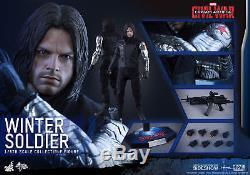 Hot Toys Winter Soldier 1/6 Scale Figure Captain America Civil War Bucky Barnes