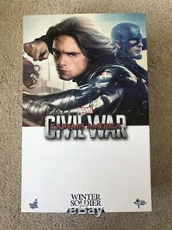 Hot Toys Winter Soldier Civil War MMS351 Figure