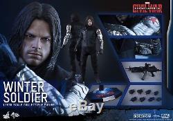 Hot toys Winter Soldier Civil War