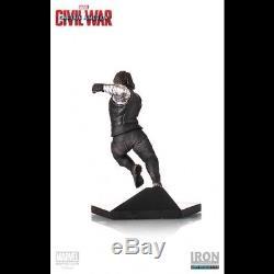 IRON STUDIOS Captain America Civil War Winter Soldier 110 Scale Statue Figure