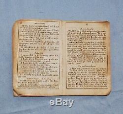 Identified Civil War Soldier's Prayer Book 2nd Massachusetts Heavy Artillery