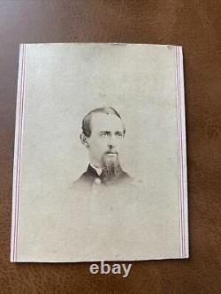Identified Civil War soldier CDV