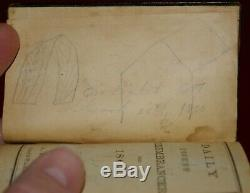 Important 1863 CIVIL War Diary Soldier Wounded Chancellorsville Battle