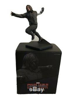 Iron Studios Winter Soldier Bucky Captain America Civil War Statue 1/10 Scale
