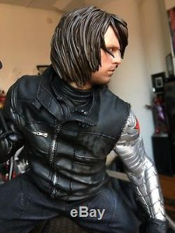 Iron Studios Winter Soldier- Captain America Civil War Legacy Statue 1/4 Scale