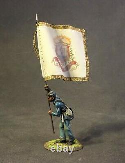 John Jenkins American CIVIL War 54mass-10 Union 54th Mass Colored Regiment Flag