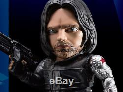 Kid Logic Egg Attack Eaa-037 CIVIL War Winter Soldier Action Figure