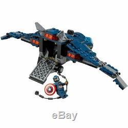 LEGO 76051 Captain America Civil War SUPER HERO AIRPORT BATTLE- New & Sealed