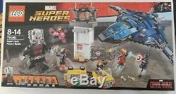 LEGO 76051 MARVEL Super Heroes Captain America CIVIL WAR Airport Battle Set NEW