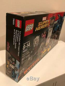 LEGO Marvel Super Heroes Super Hero Airport Battle 76051 Avengers Civil War NISB
