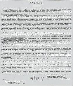 Large Original Antique Folio Lithograph Print CIVIL WAR US Confederate Soldiers