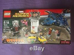 Lego 76051 Marvel Super Hero CIVIL War Airport Battle Retired Factory Sealed