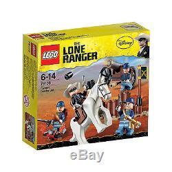Lego Lone Ranger 79106 CAVALRY BUILDER Soldier Civil War Cannon Minifigs NISB